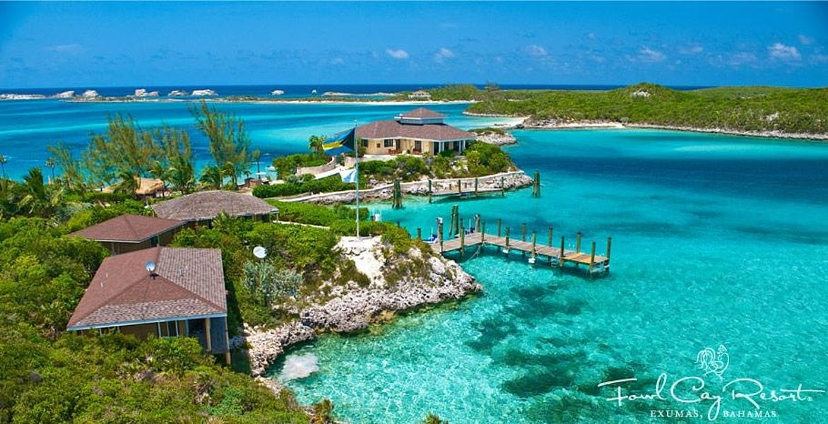 Private Islands For Rent Fowl Cay Bahamas Caribbean