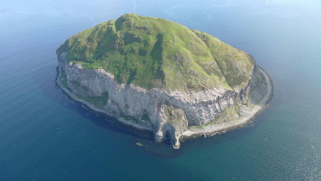 Island Archive Ailsa Craig Great Britain Europe