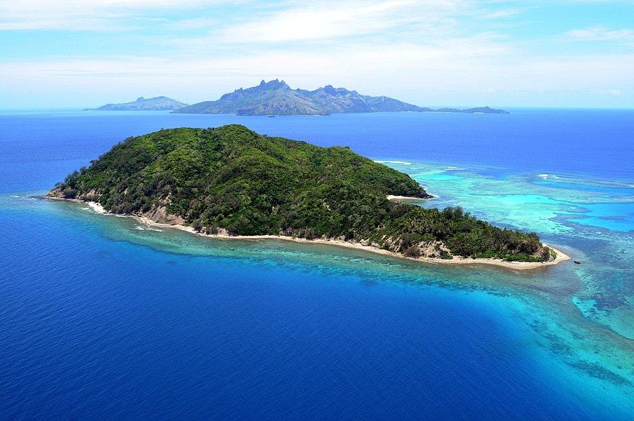 Beautiful Island Country South Pacific