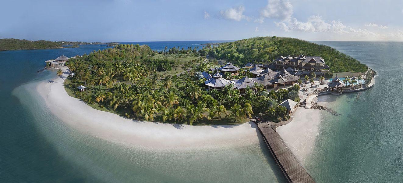 Private Islands For Rent Calivigny Island Grenada Caribbean - Road map of grenada island