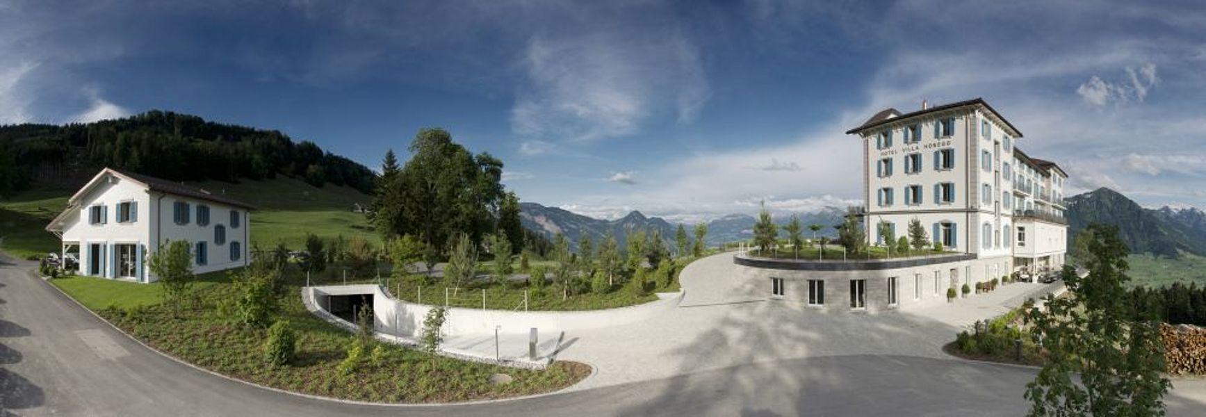Hotel Villa Honegg avec privatinsel mieten - hotel villa honegg - schweiz - europa: atlantik
