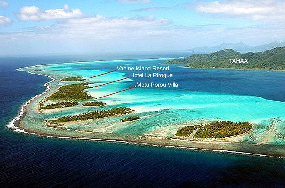 Island Archive - Villa on Motu Porou - French Polynesia