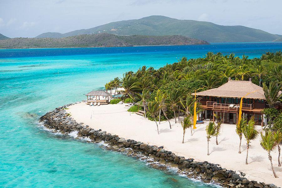 Richard Branson's Billionaire's Paradise Island