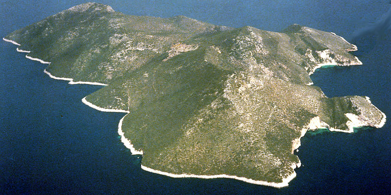 Greek Island in the Ionian Sea