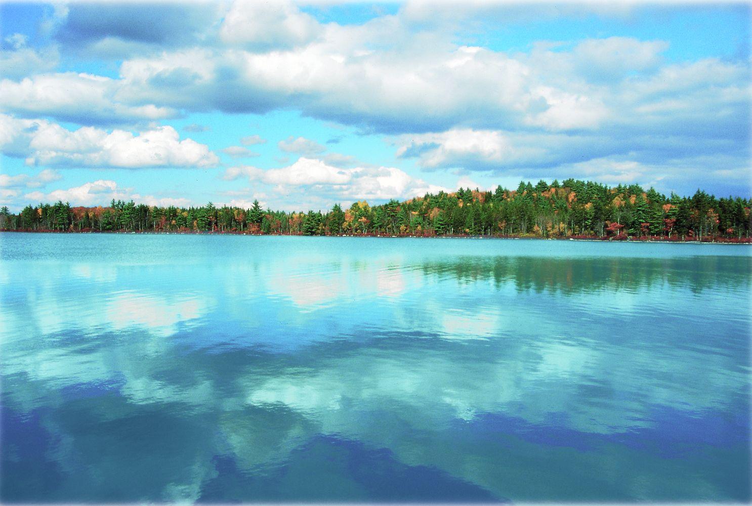 Kaufinseln Little Tupper Lake Nova Scotia Kanada Ost Zentral