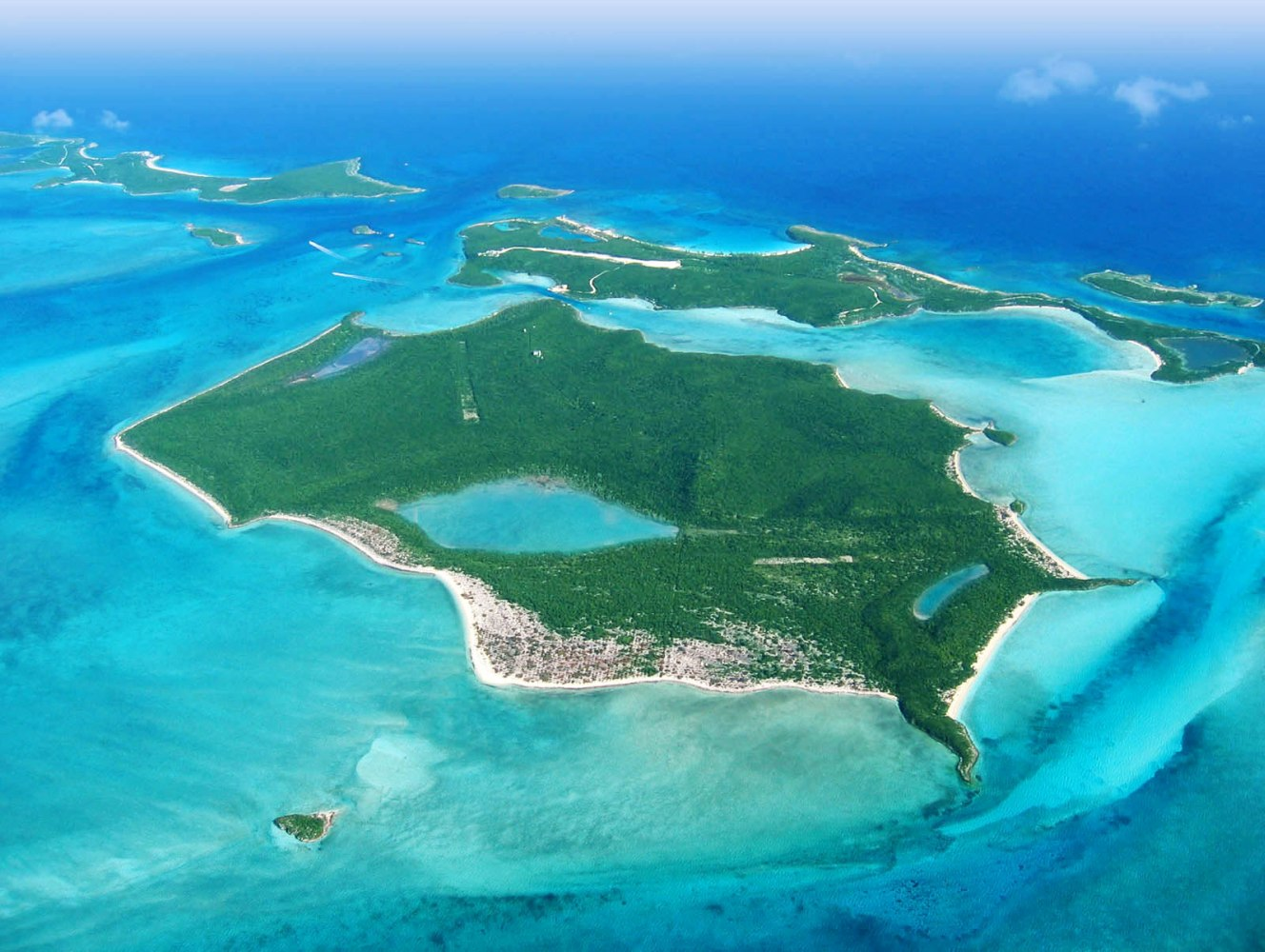 Private Islands For Sale Big Darby Island Bahamas