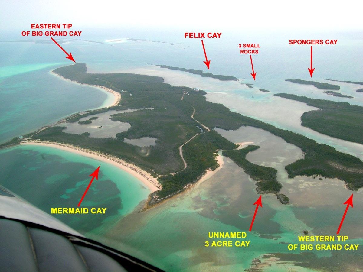 Island Archive Big Grand Cay Archipelago Bahamas Caribbean