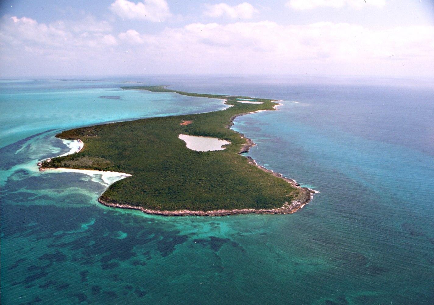Island Archive Bonds Cay Bahamas Caribbean