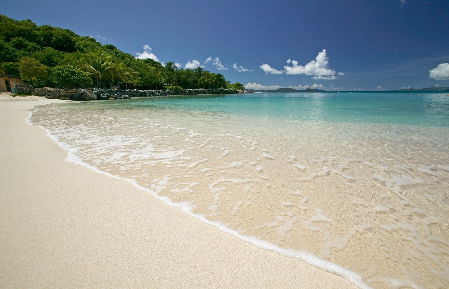 Buck Island Off The British Virgin Islands