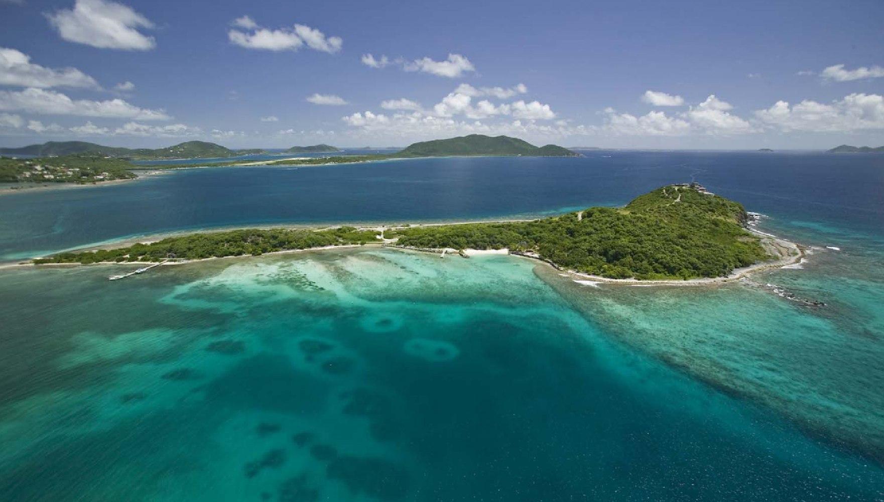 Where Is Tortola British Virgin Islands Map