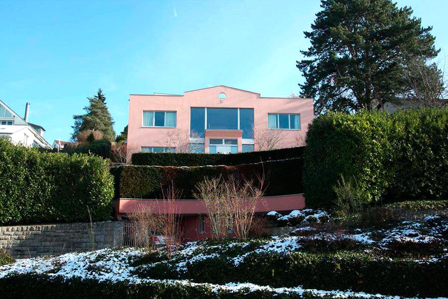 Kaufinseln Haus Küsnacht Schweiz Europa Atlantik