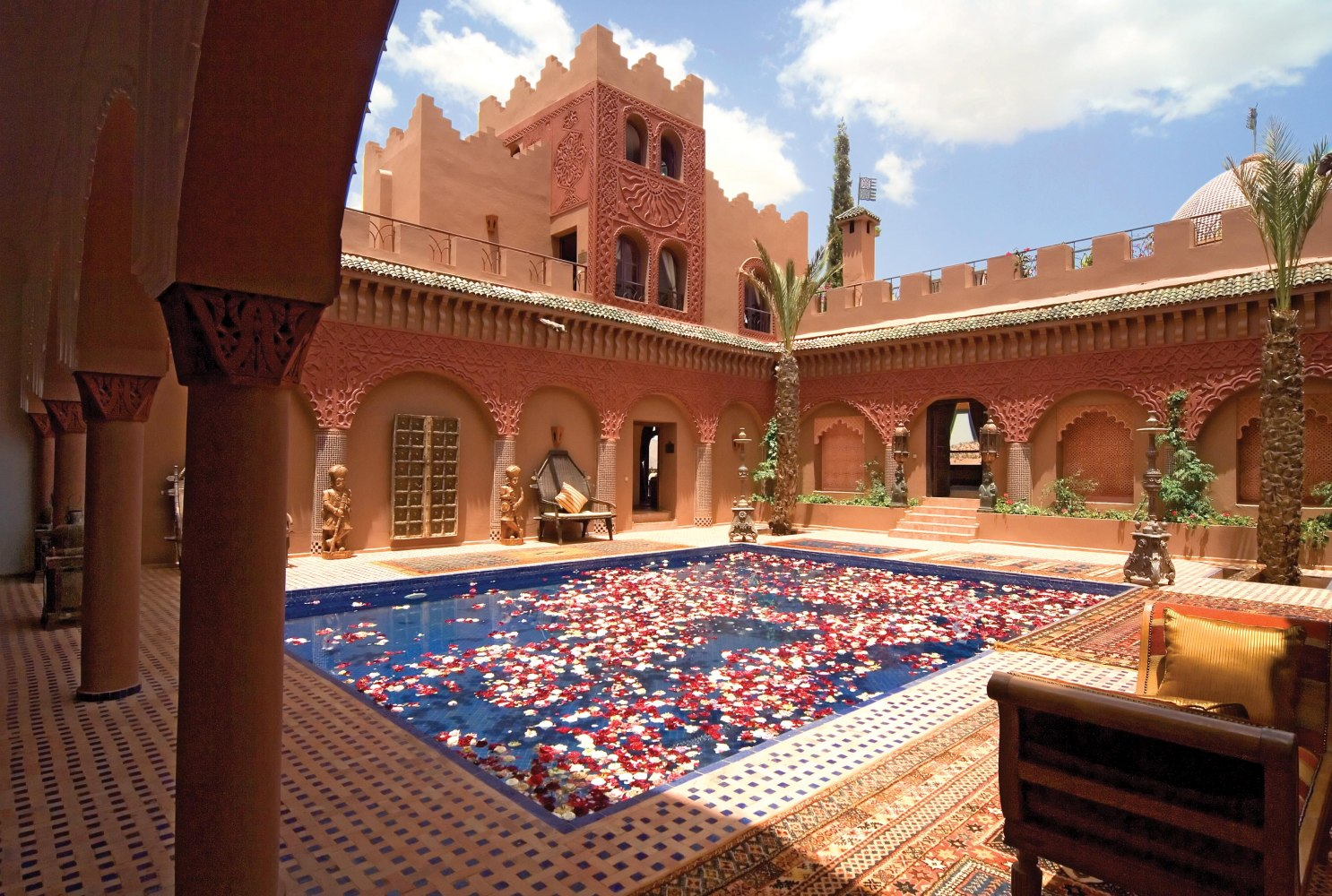 Private Islands For Rent Kasbah Tamadot Morocco