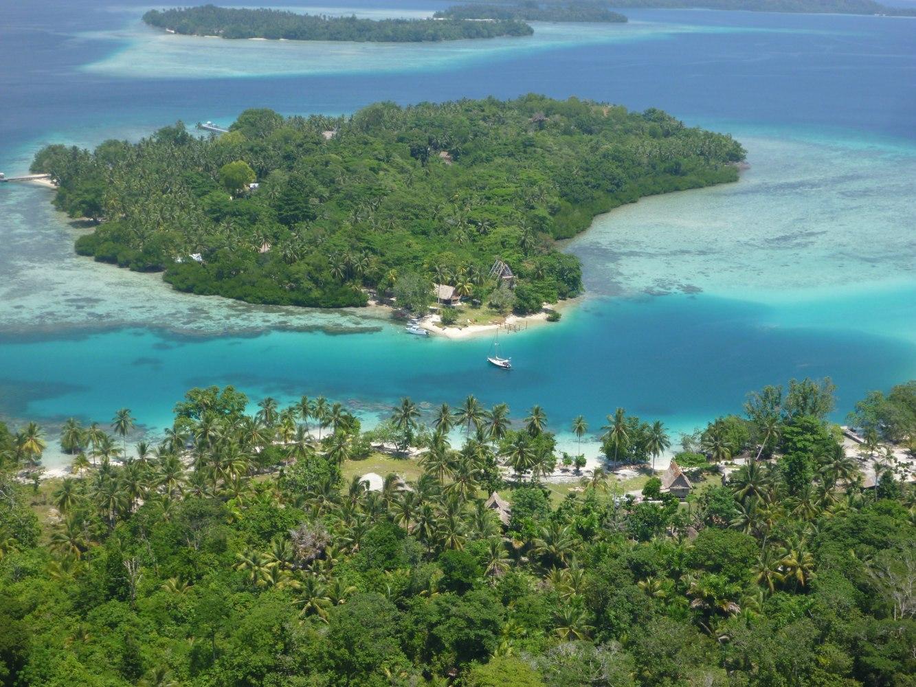 Island Archive Tavanipupu Island Solomon Islands