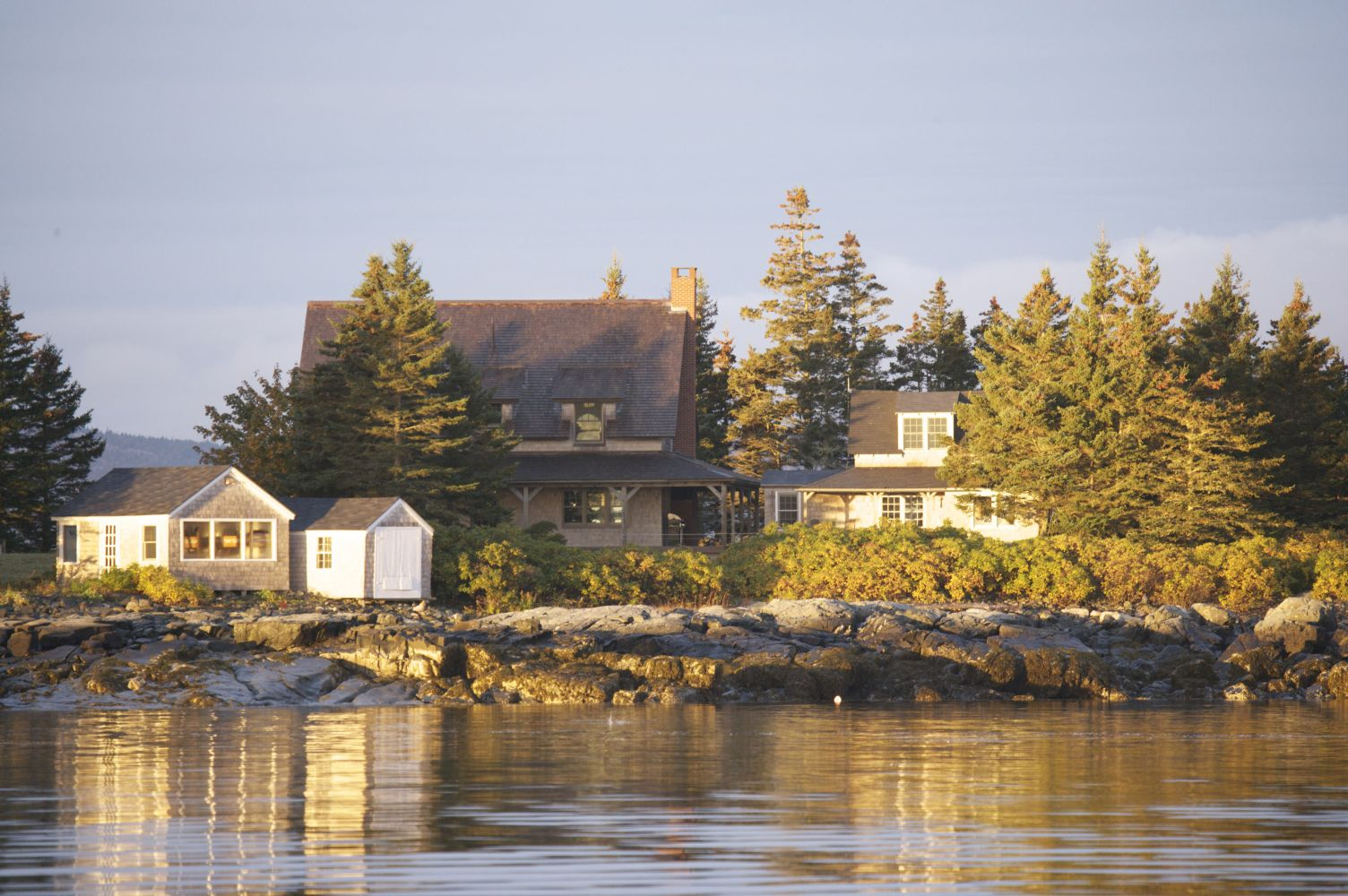 Spectacle Island Maine Rental
