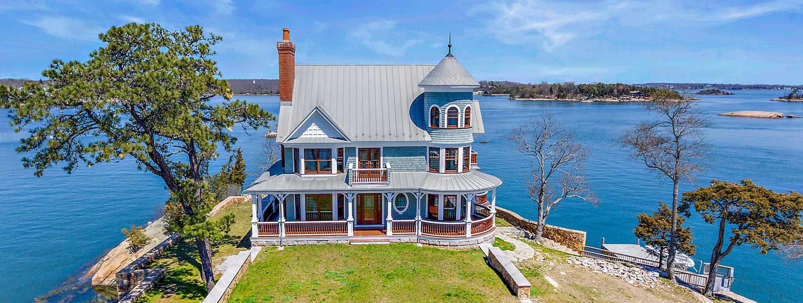 Private Islands for sale - Cut in Two Island West - Connecticut - USA