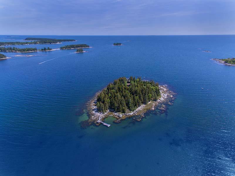 Private Islands for sale - Ram Island - Maine - USA